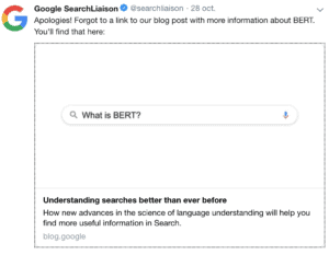 bert searchliasion